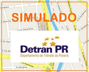 simulado detran pr Simulado do Detran PR