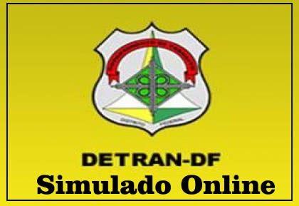 simulado detran df Simulado do Detran DF